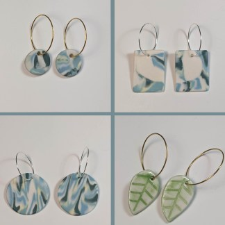 Porcelain and Glass Jewellery